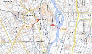 成子-HP案内図・地図